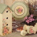 floral-birdhouse-group